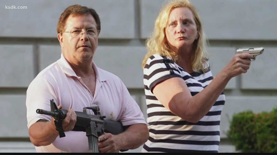 Mark and Patricia McCloskey plead guilty to lesser charges in gun case