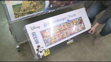 Dana Dean visits the largest jigsaw puzzle store in the world