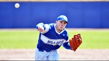 SLU pitcher throws a no-hitter, schools first since '61