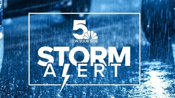 Storm Alert | Wintry mix transitioning to rain