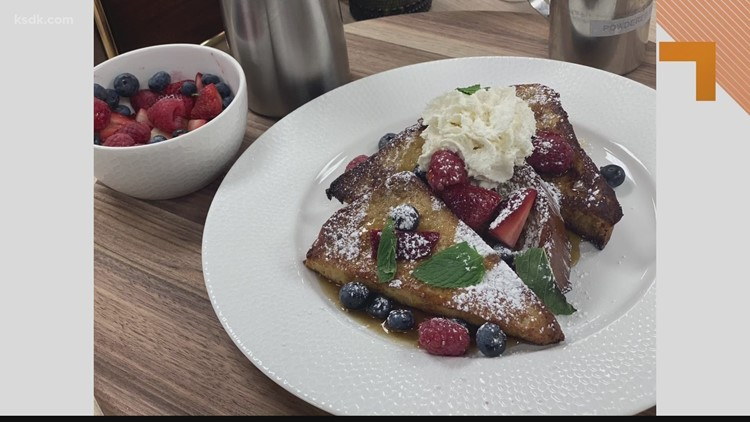 Recipe of the Day: Brioche French Toast with Fresh Berries, Warm Maple Syrup & Chantilly Cream