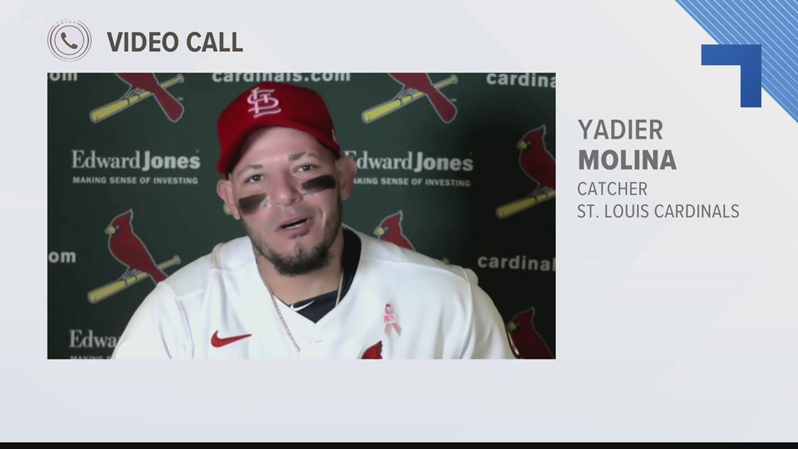 Yadier Molina talks about Adam Wainwright's impressive Mother's Day start