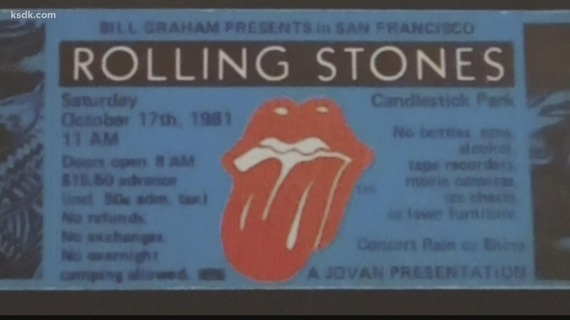 Rolling Stones bring tour to St. Louis