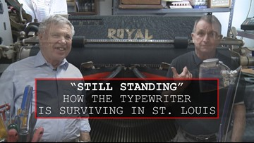 How the typewriter is still surviving in St. Louis