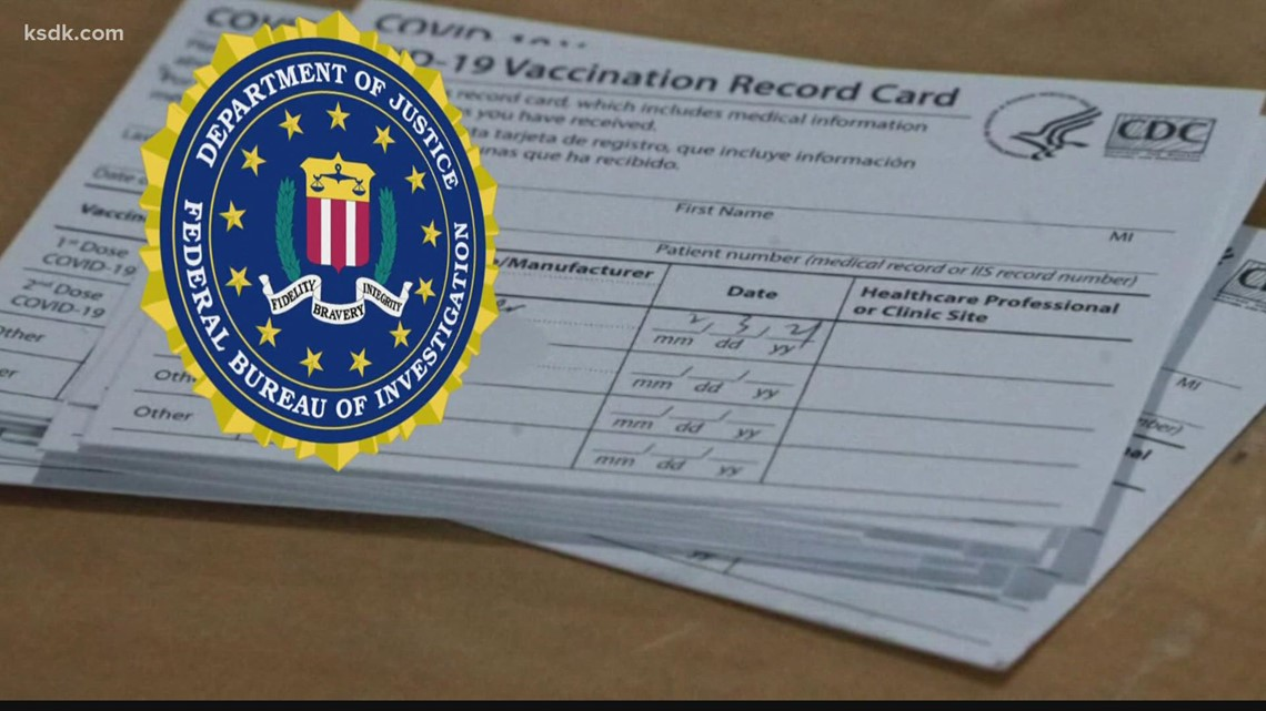 Having fake COVID vaccination card could mean big fines, prison time