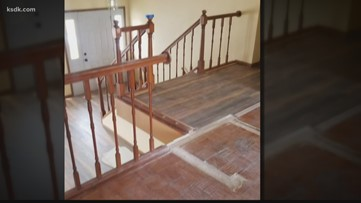 Craigslist contractor leaves work unfinished
