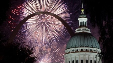 Fourth of July fireworks guide for the St. Louis area