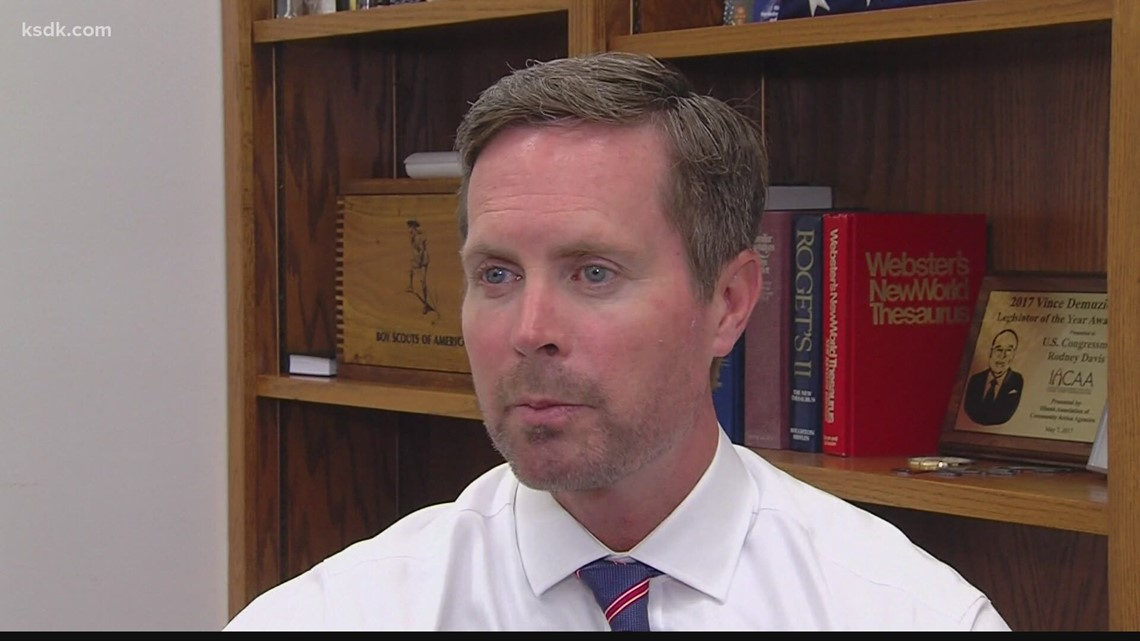 Illinois Rep. Rodney Davis appointed to committee on Capitol riots