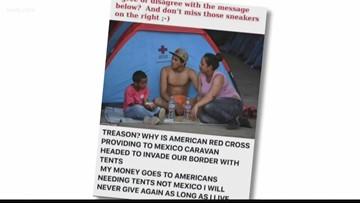 Verify: Red Cross treason?