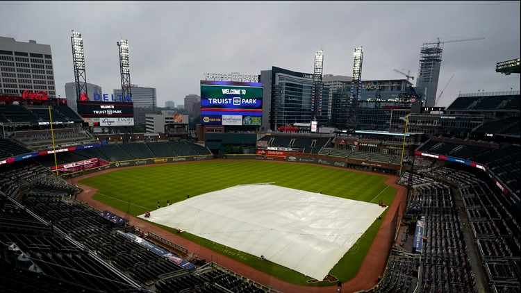 Cardinals-Braves postponed  Saturday; they'll play two 7-inning games Sunday