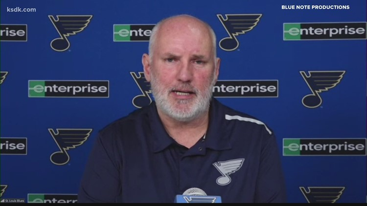 Blues GM Doug Armstrong talks about team heading into offseason