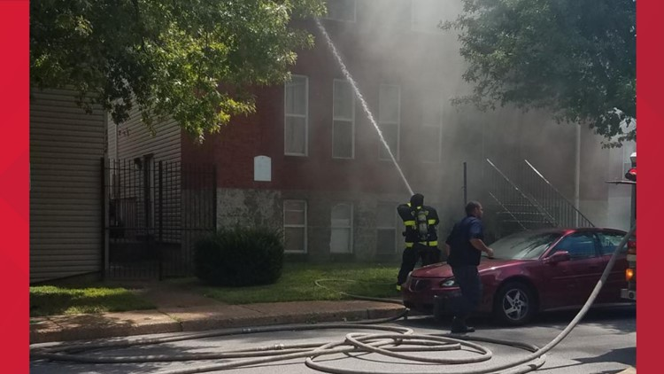 1300 block of Ohio Avenue fire