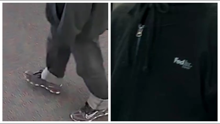 robbery suspect clothes