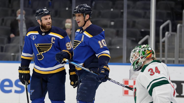 Blues increase fan attendance for playoffs to 50% capacity