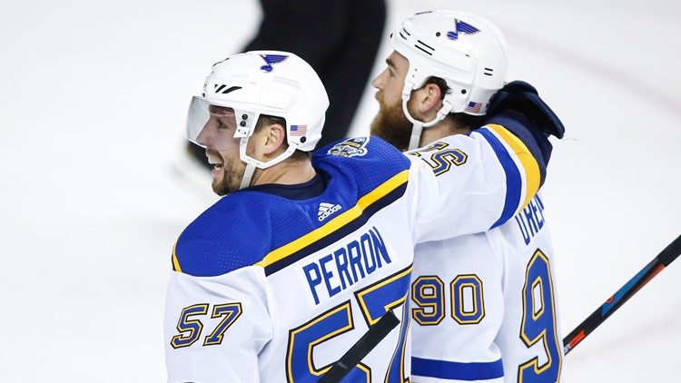 Perron may just be playing the best hockey of his career