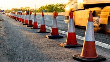 I-70 in Warren County to briefly shut down Sunday morning for powerline repairs