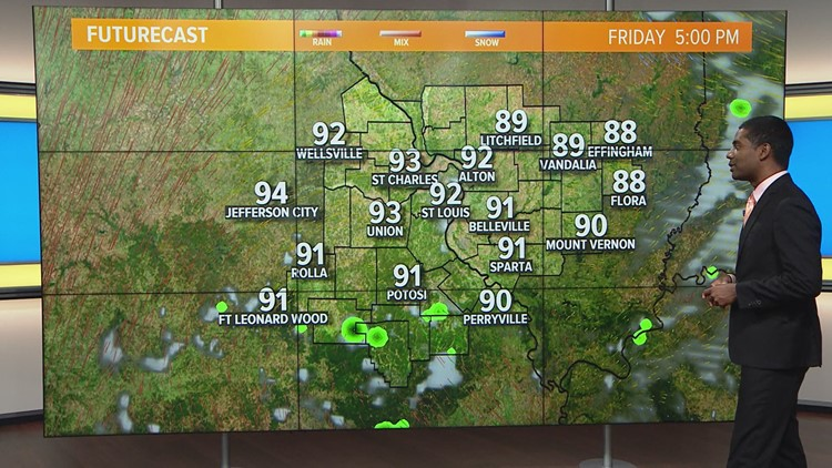 Ksdk Weather Map.Thursday Chester Web Weather Ksdk Com