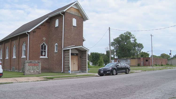 Historic church, once a stop on the Underground Railroad, in need of a miracle