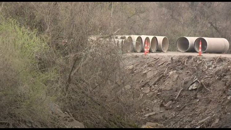 Brentwood Deer Creek project underway to prevent flash flooding on Manchester