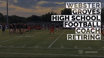 Webster Groves High School football coach retiring after 21 years