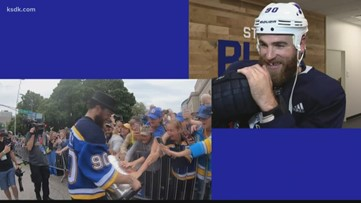 Frank plays hit-and-run with Blues star Ryan O'Reilly