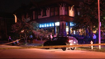 Customers inside wine bar helped keep shooting victim alive with kitchen towels