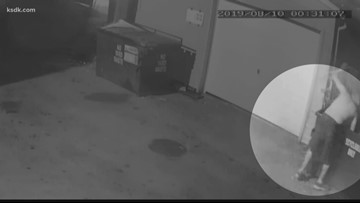Caught on tape: Man sets several dumpsters on fire in Bevo Mill neighborhood