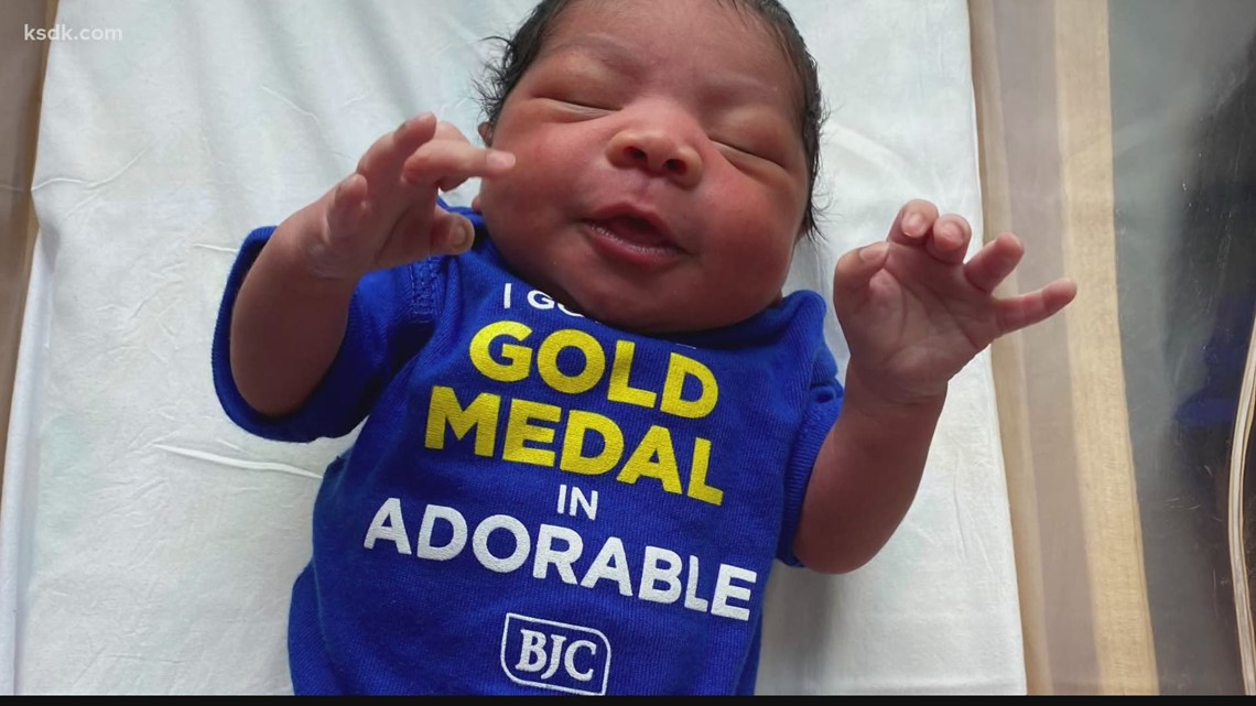 St. Louis newborns celebrate Olympics