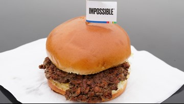 What makes Burger King's Impossible Burger look and taste like real meat?