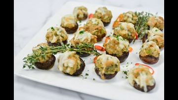 Recipe of the Day: Stuffing Filled Mushroom Caps