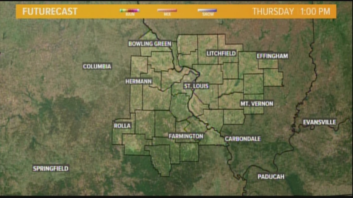 Ksdk Weather Map.Thursday Weather Forecast 4am Ksdk Com