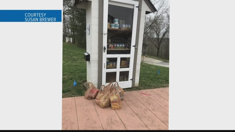 People all over the area are sharing kindness through the tough times