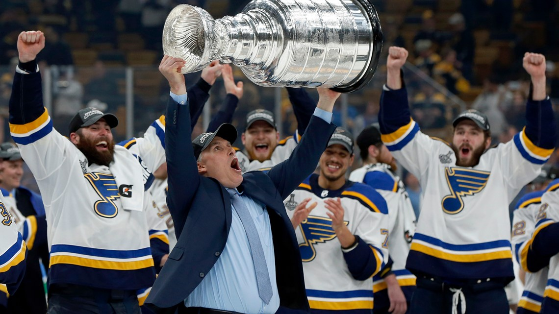 THE ST  LOUIS BLUES ARE BRINGING HOME THE CUP!!! | ksdk com