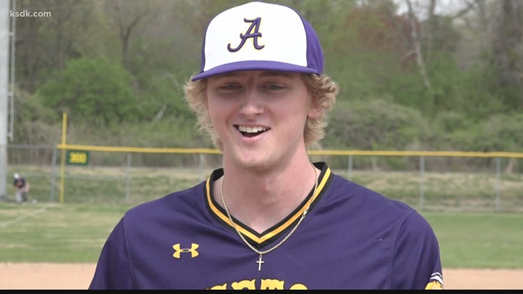 Affton pitcher strikes out every batter in complete game