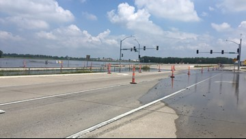 Both directions of Route 141 to close in Maryland Heights due to flooding
