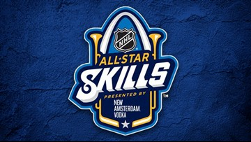 Events for NHL All-Star Skills Friday night announced