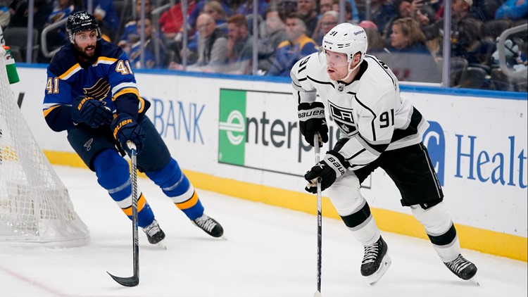 Blues undefeated: Tarasenko, Husso lift Blues to 3-0 win over Kings