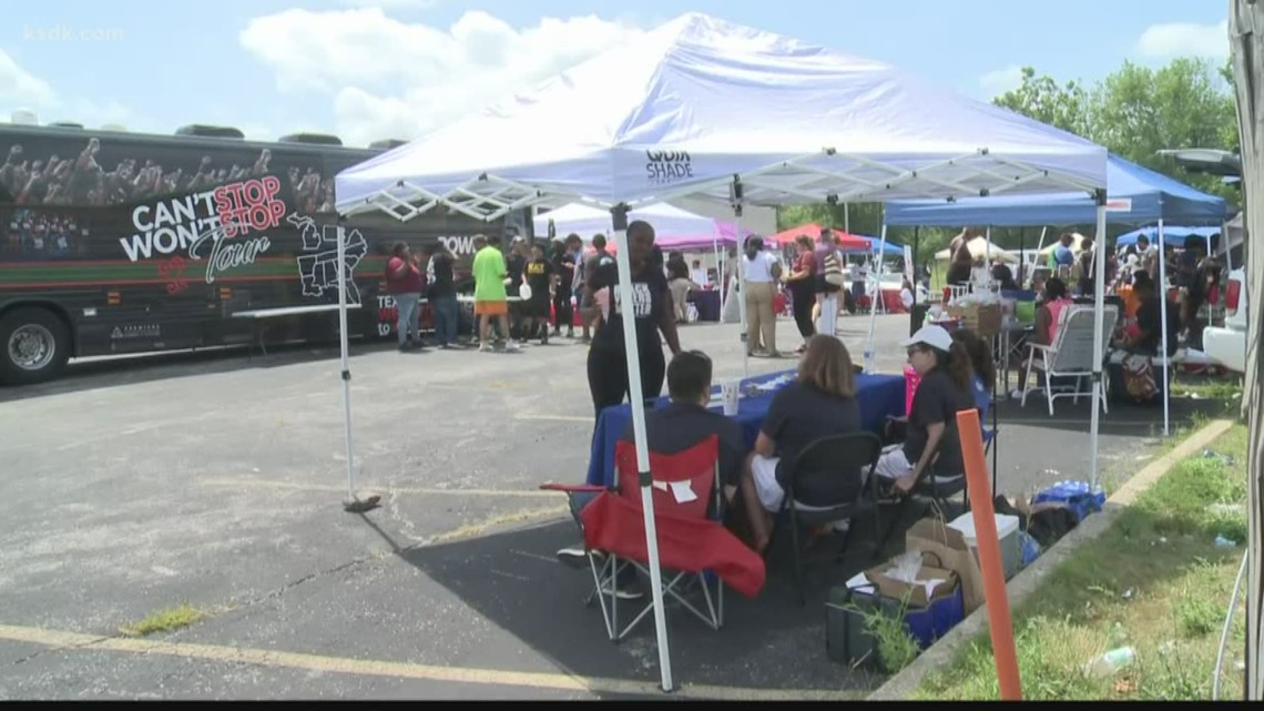 'It takes a village to move things forward' | Residents come out for Ferguson Community Day