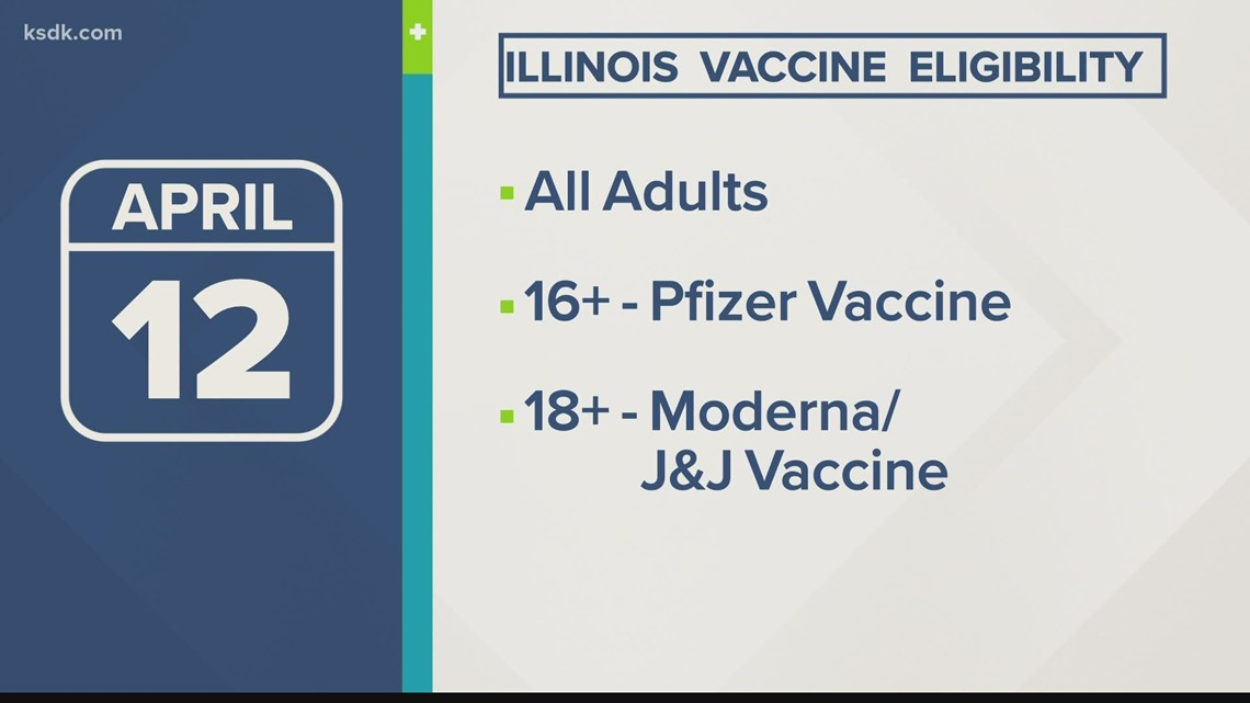 All Illinois adults eligible for COVID-19 vaccine