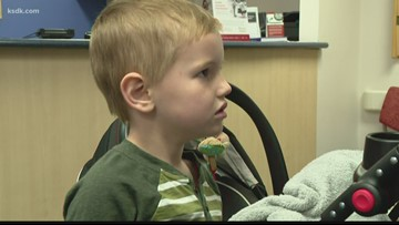 Local 4-year-old boy overcomes spinal cord cancer