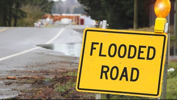 Flooding closes part of Highway 94 in West Alton