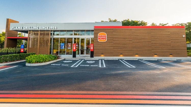 Burger King in Sunset Hills showcases franchise's new exterior design