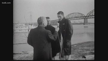 #VintageKSDK: News chopper crashes into Mississippi in 1966