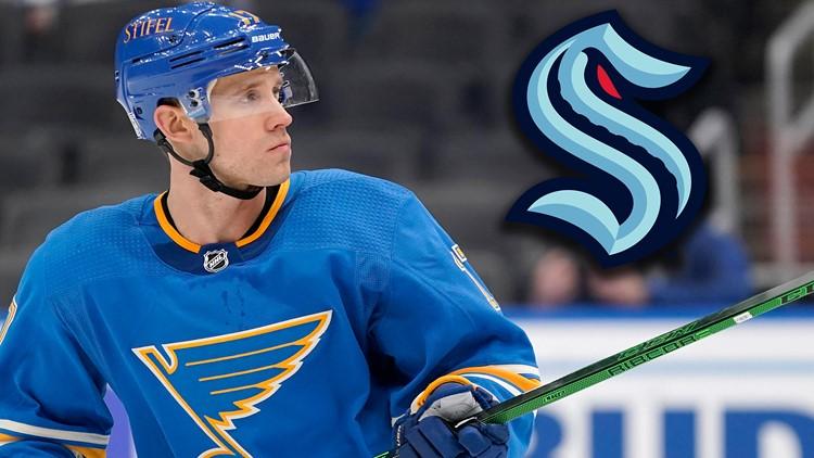 Former Blues forward Jaden Schwartz signs 5-year deal with Seattle Kraken