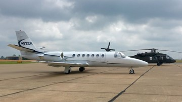 Business jet that departed from East Alton crashes in Atlantic Ocean