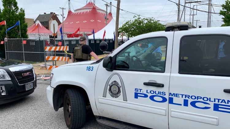 Officer shot in St. Louis' Grand Center neighborhood