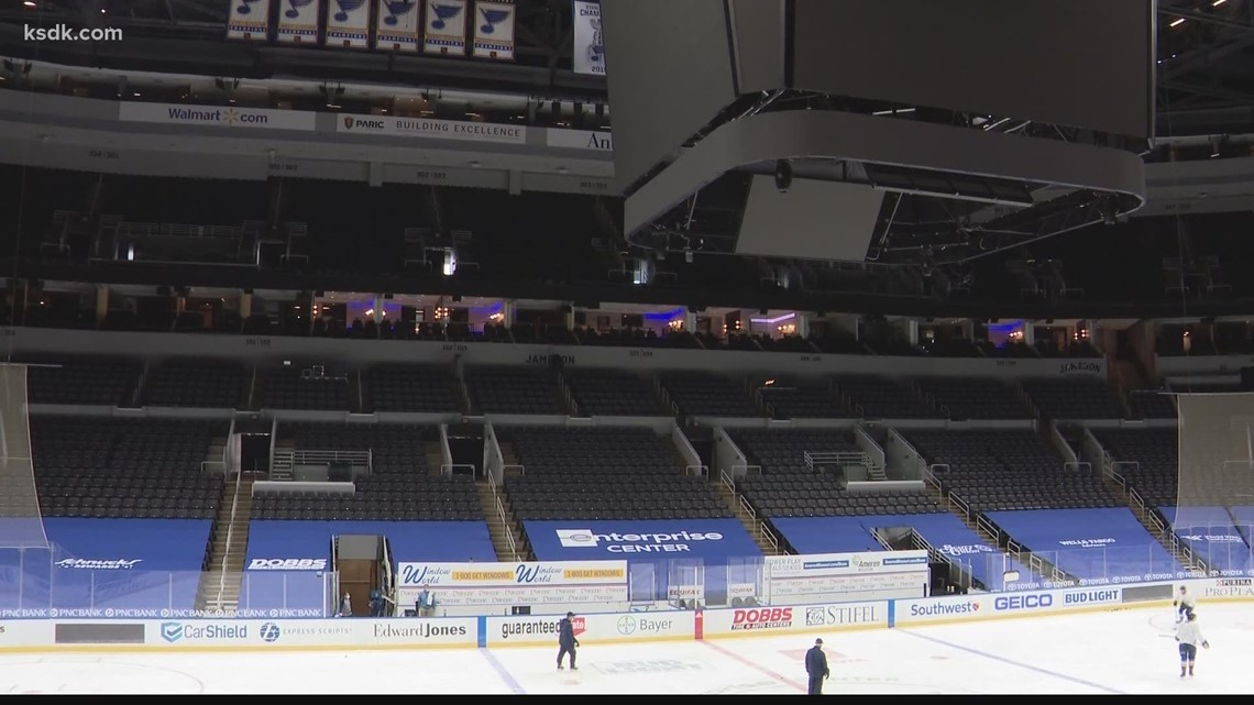 Blues open homestand in front of increased fans in the stands