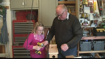 10-year-old and Grandpa build gift that keeps giving