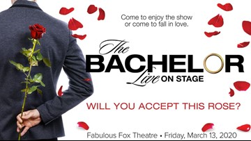 The Bachelor Live on Stage' coming to St  Louis | ksdk com