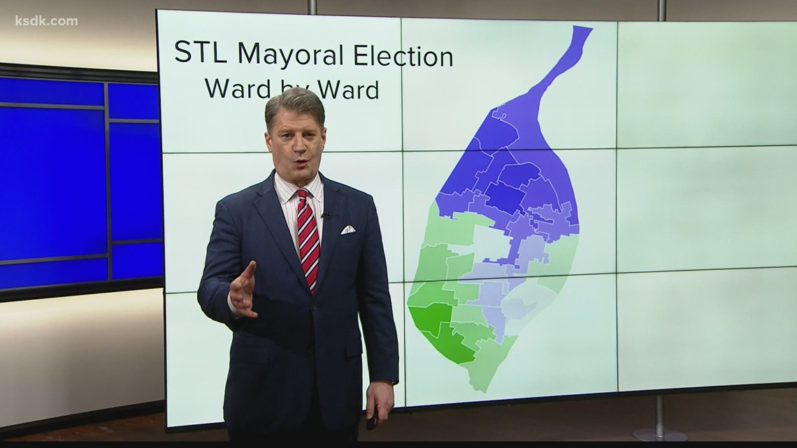 Analysis: Ward-by-ward breakdown of how St. Louis voted for mayor